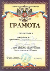 Капускина Е.А._2 место_Черное море